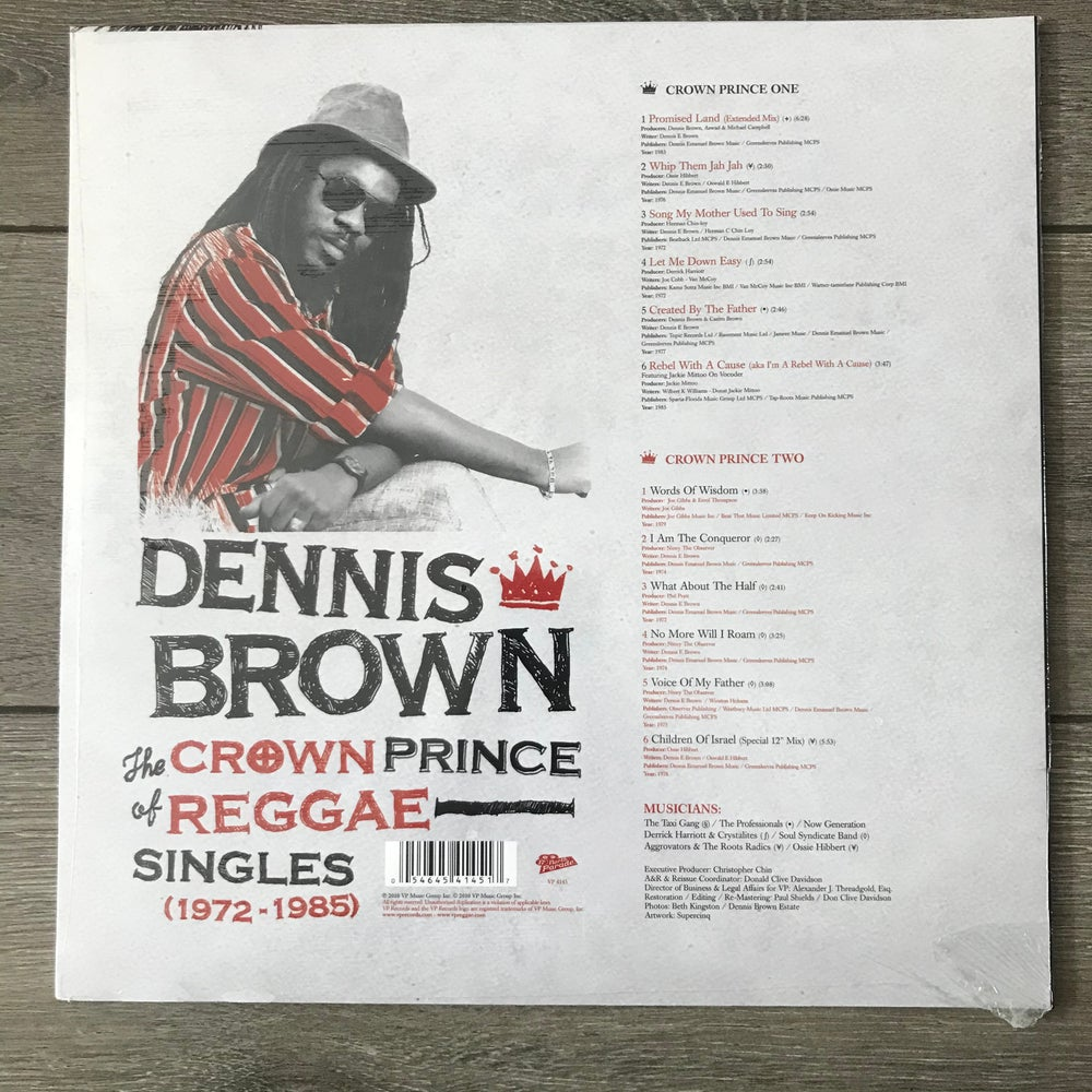 Image of Dennis Brown - The Crown Of Prince Of Reggae Singles 1972-1985