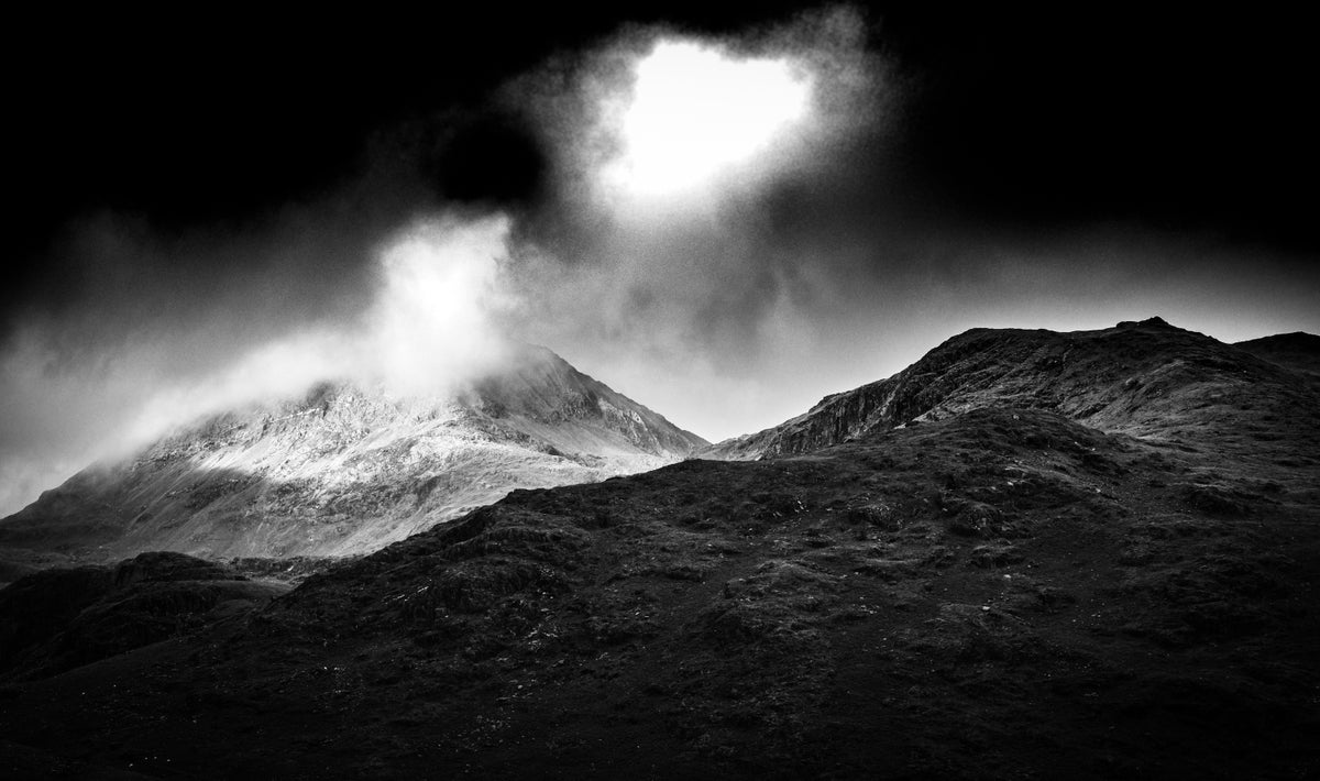 Snowdonia clouds