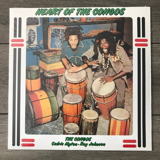 Image of The Congos - The Heart Of Congos Vinyl LP