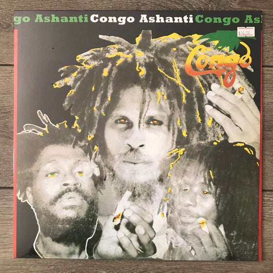 Image of The Congos - Congo Ashanti Vinyl LP