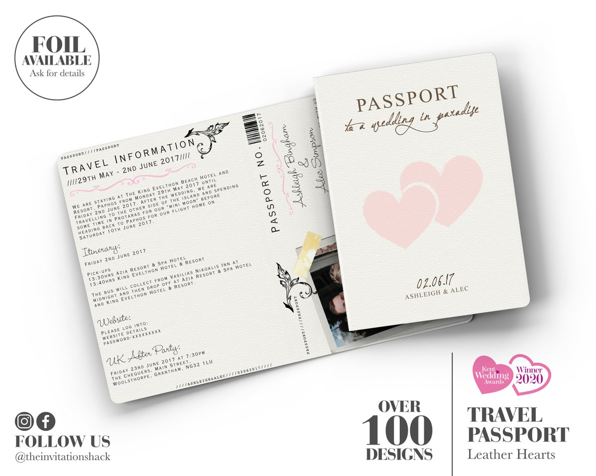 Leather Hearts Passport
