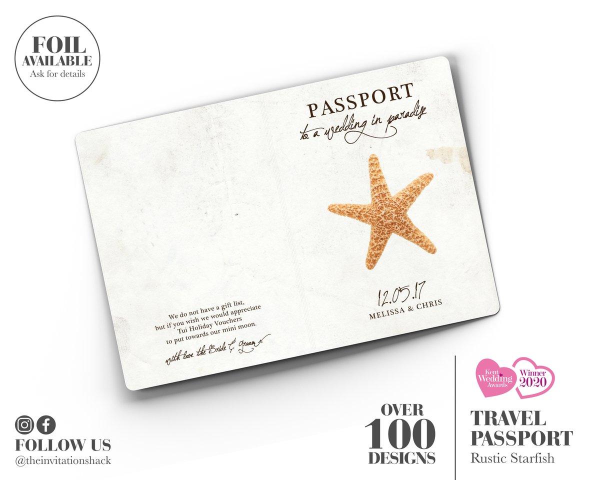 Rustic Starfish Passport