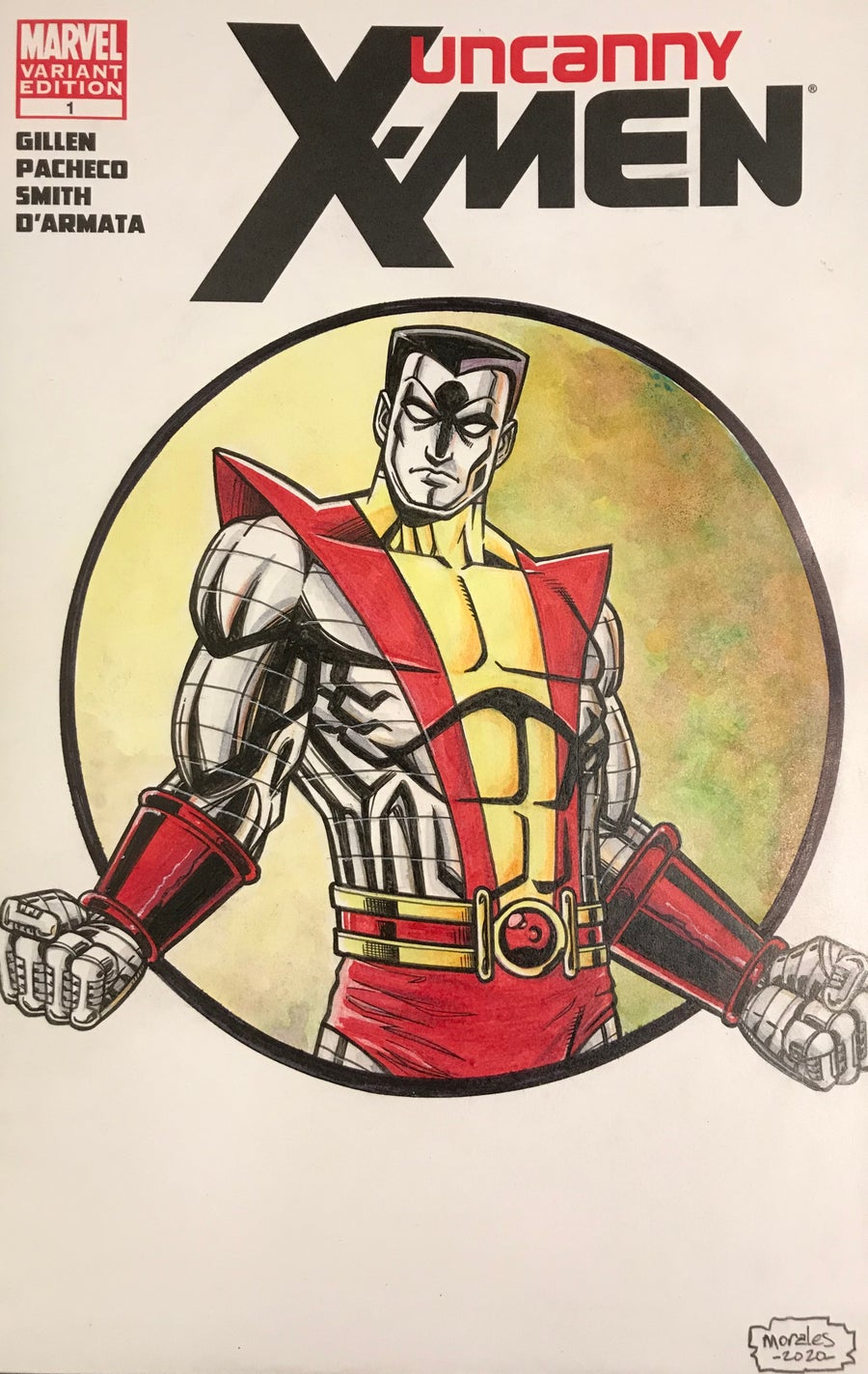 Image of Uncanny X-Men Colossus sketchcover (2020)