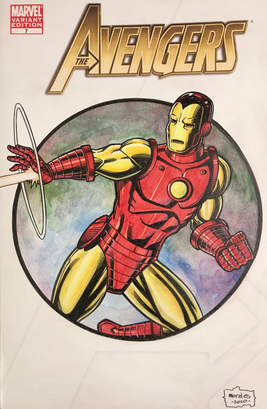 Image of Avengers Iron Man Sketchcover
