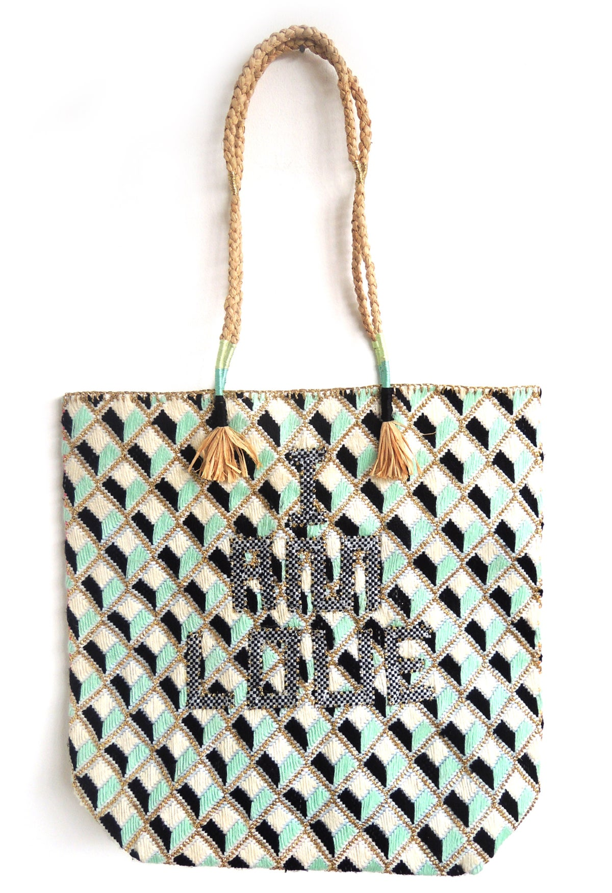 Recycled Charity Bag Sadie Frost x Frances Dove x Enshalla.