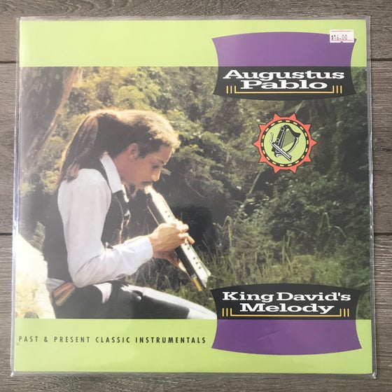 Image of Augustus Pablo - King Davids Melody Vinyl LP