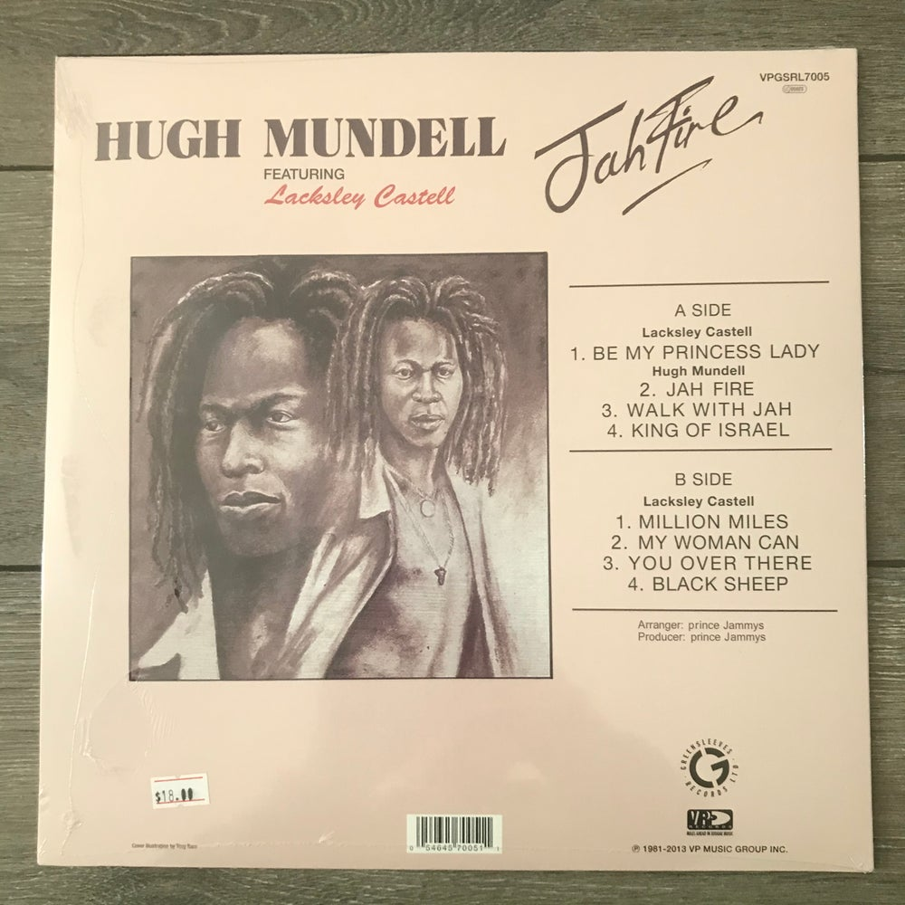 Image of Hugh Mundell - Jah Fire Vinyl LP