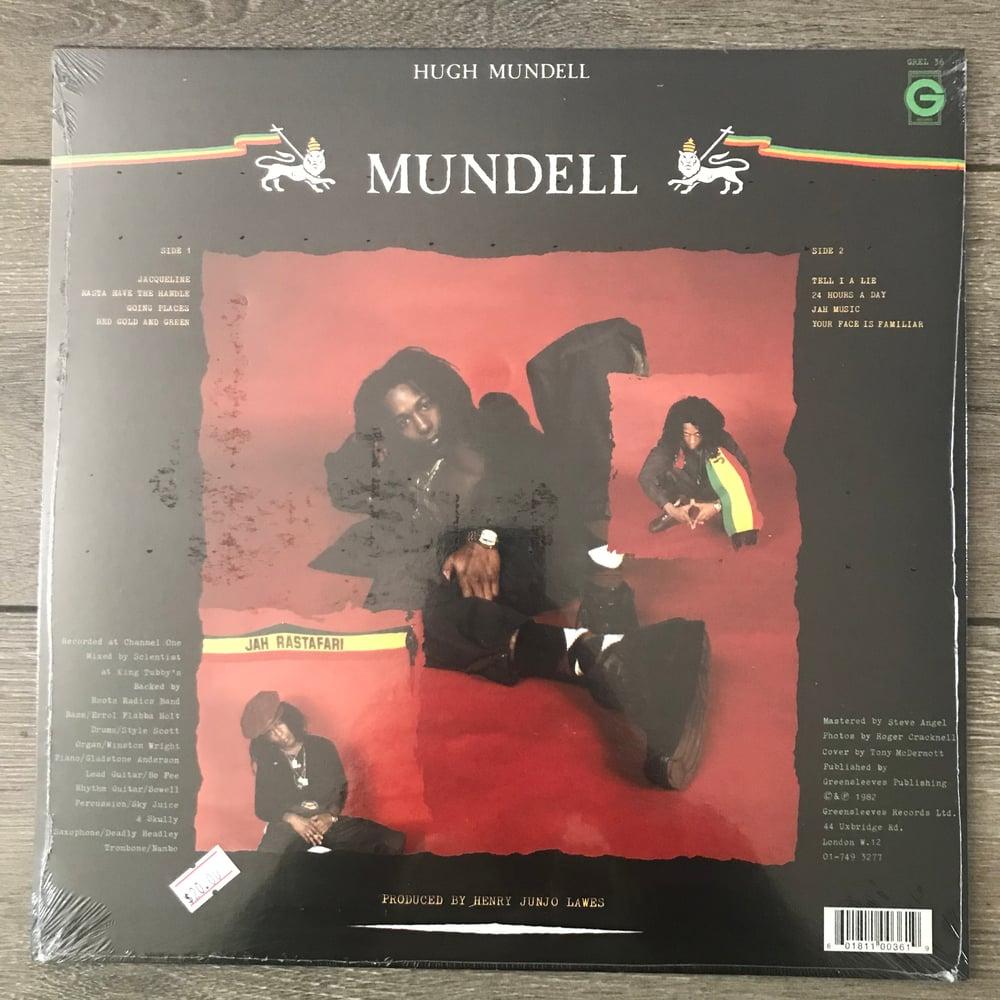 Image of Hugh Mundell - Mundell Vinyl LP