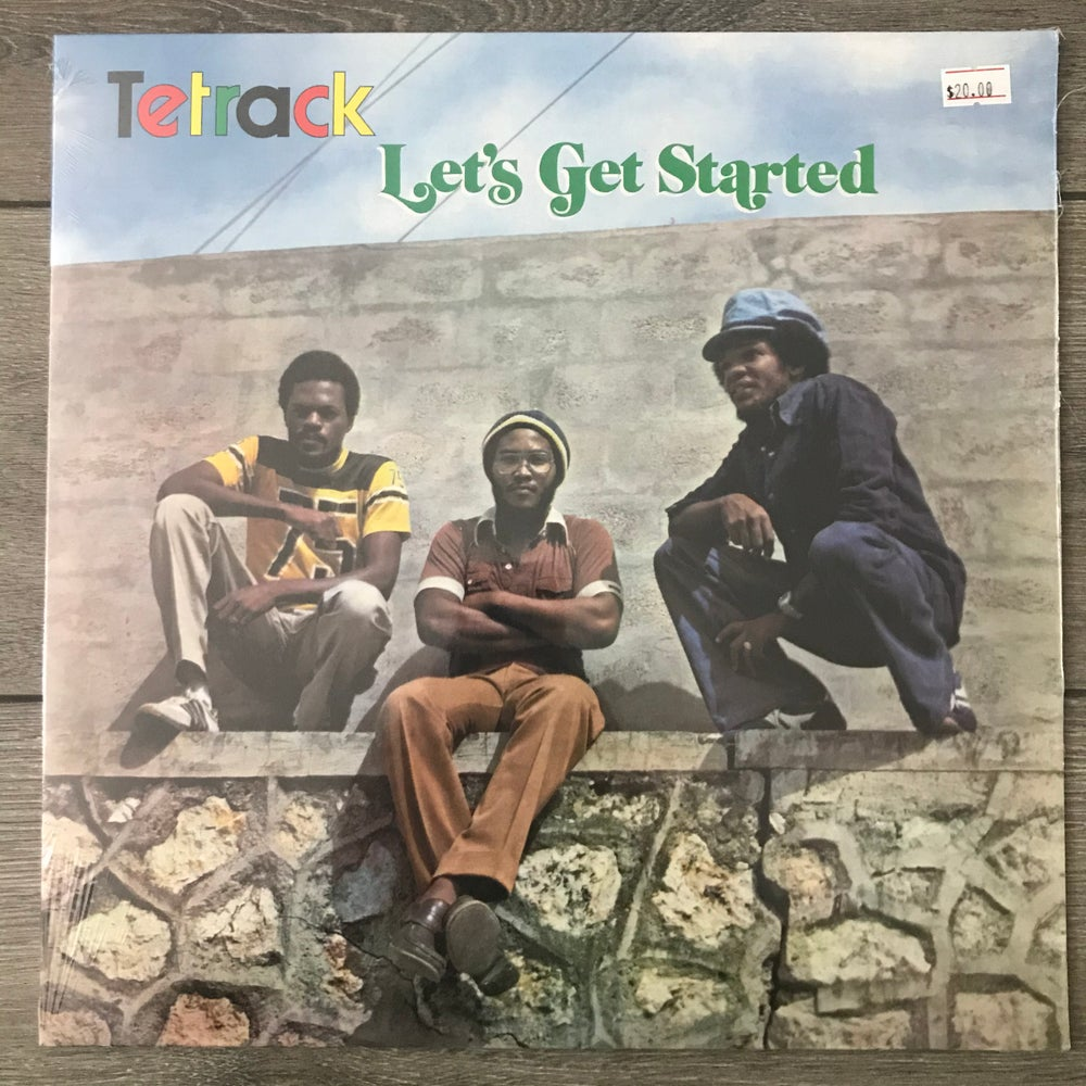 Image of Tetrack - Let's Get Started Vinyl LP