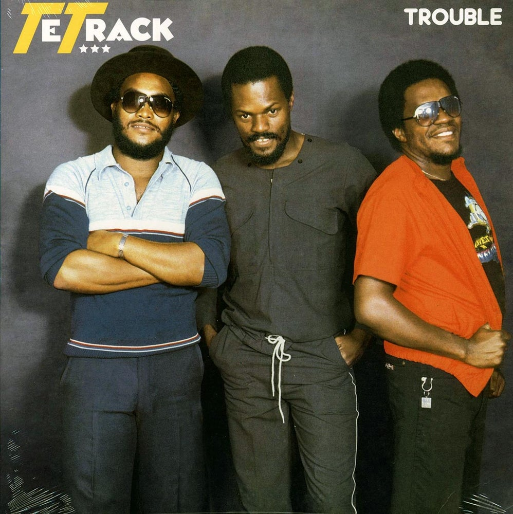 Image of Tetrack - Trouble Vinyl LP