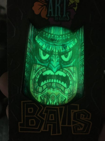 Image of Glow in the Dark Tiki-Bat