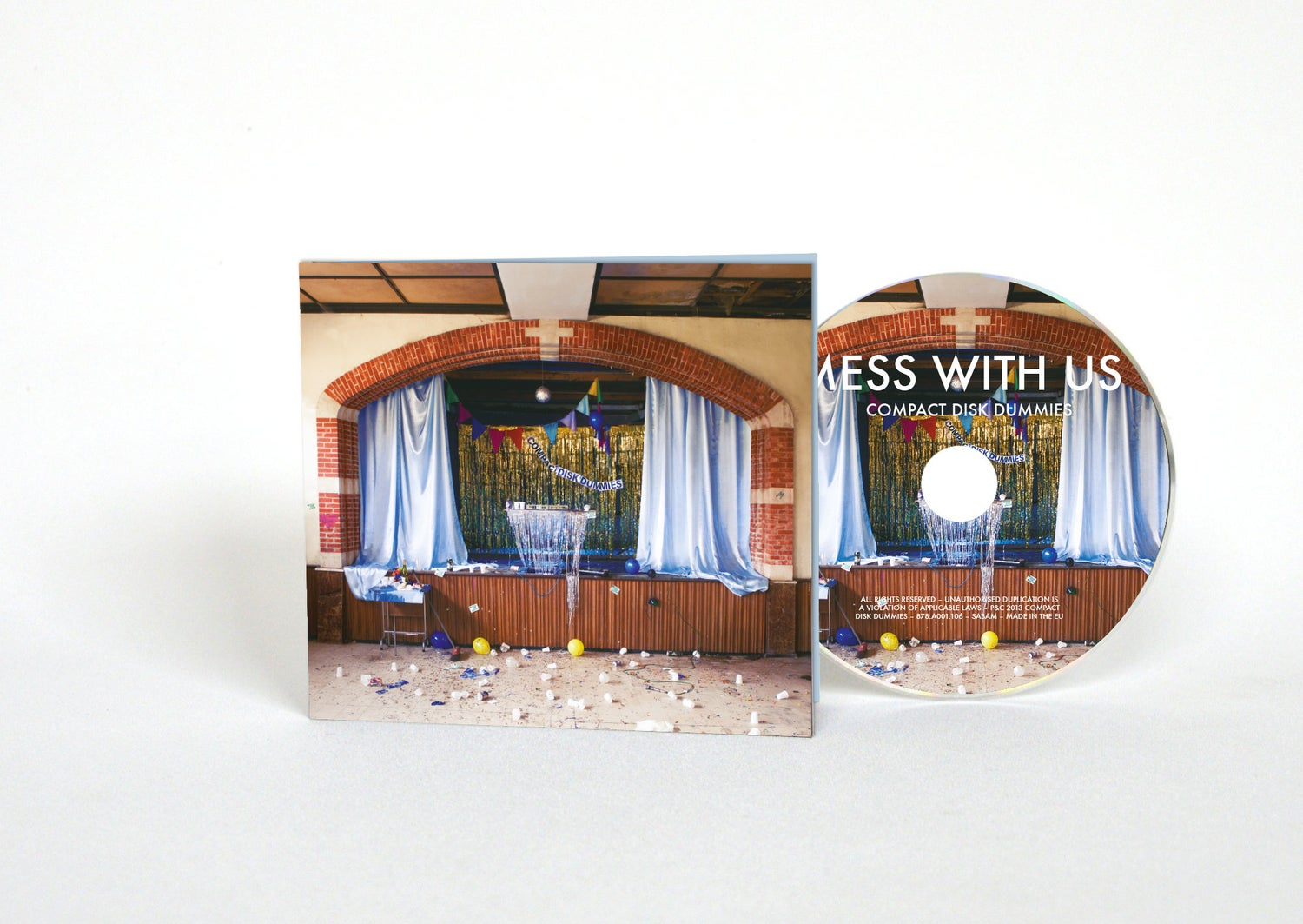 Image of Mess With Us (CD)