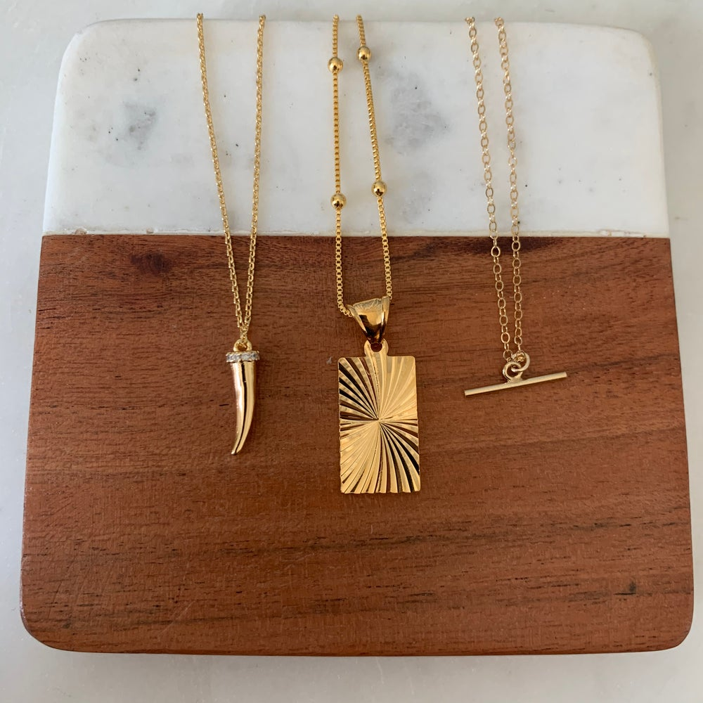 Image of Sunburst Necklace
