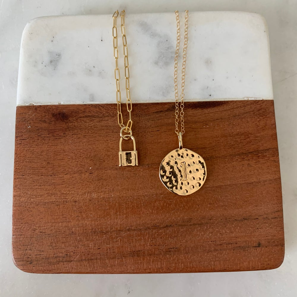 Image of Link necklace  (with or without lock)