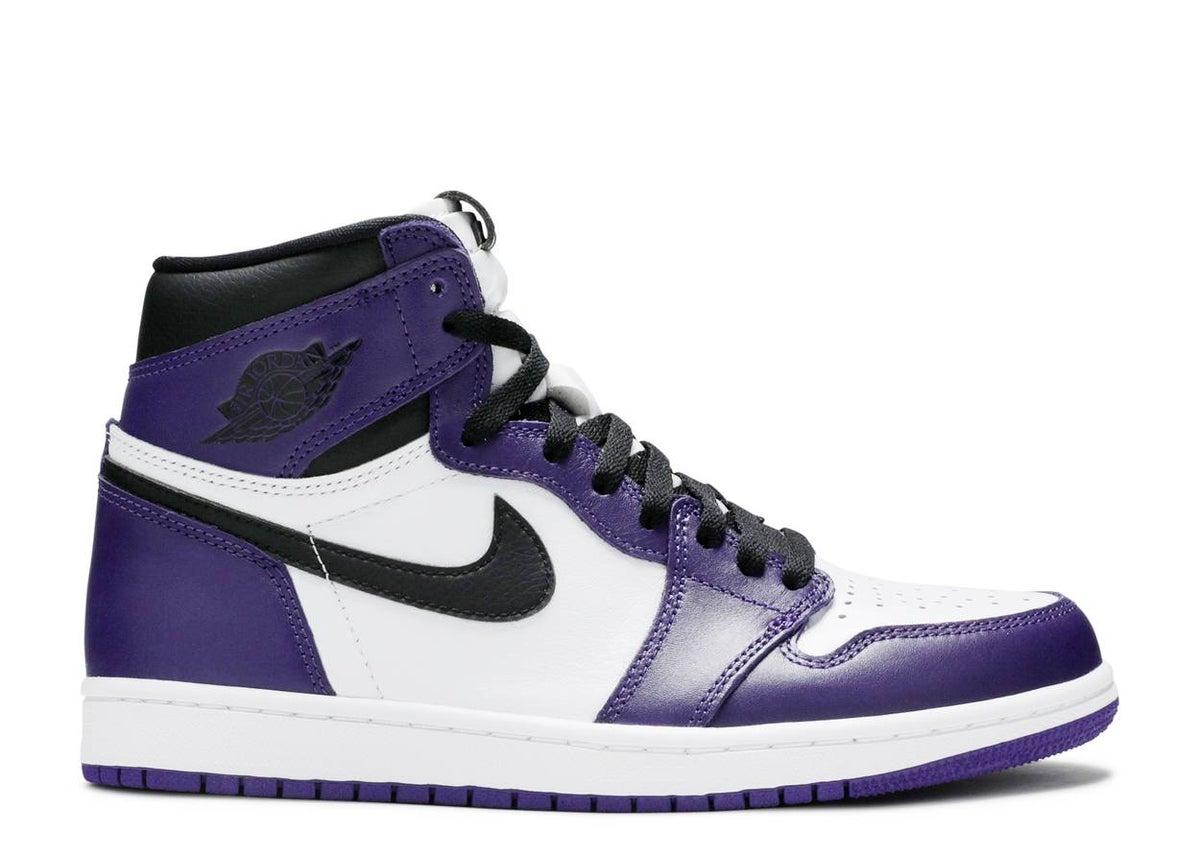 "Image of AIR JORDAN 1 HIGH OG ""COURT PURPLE"""