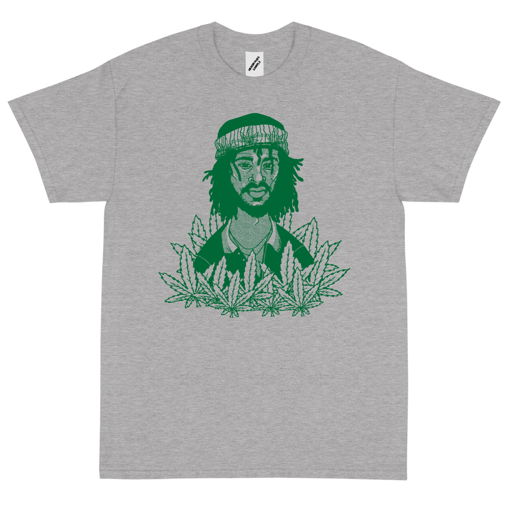 Image of Peter Tosh Grey T shirt