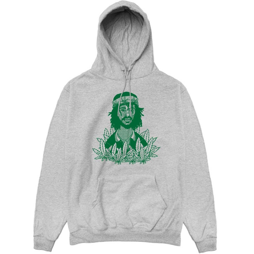 Image of Peter Toshi Grey Hoodie
