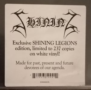 "Image of Shining ""Varg Utan Flock"" DLP (White) Signed Edition"