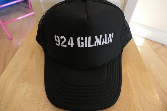Image of 924 Gilman Truckers Cap Hat- Black
