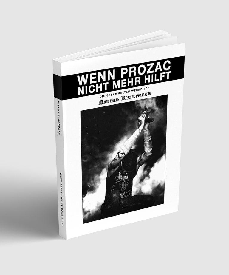 "Image of Niklas Kvarforth ""Wenn Prozac Nicht Mehr Hilft"" BOOK (Blood Edition)"