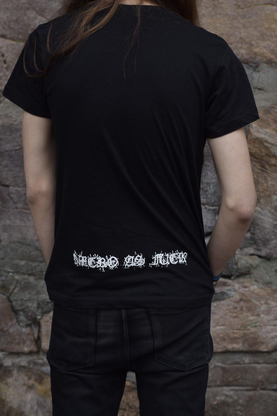 Necro as fuck - logo Tshirt