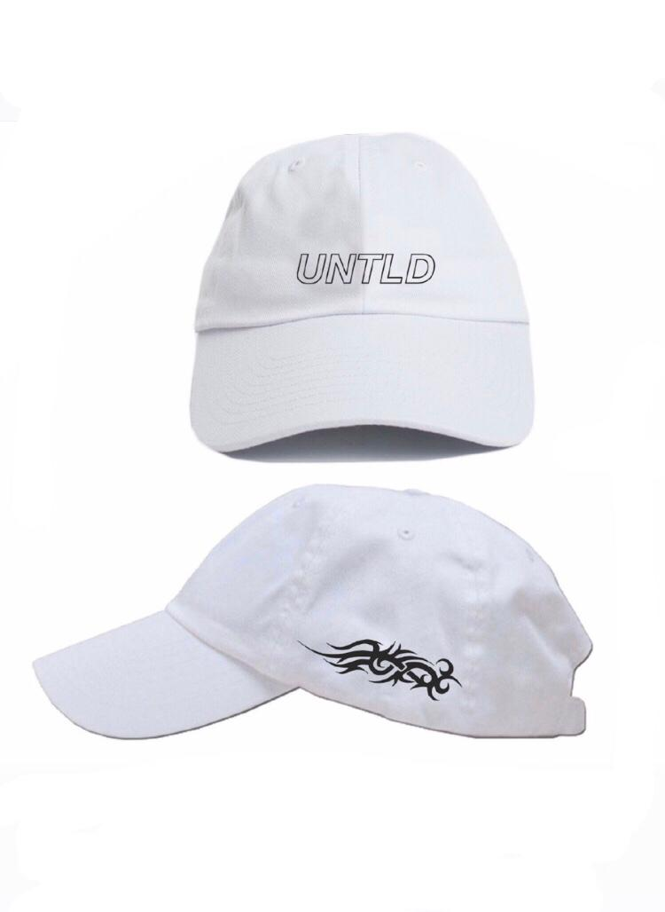 Reflective White Cap