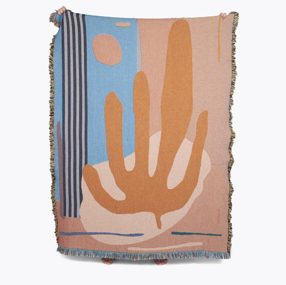 Image of Hazlewood throw by Slowdown Studio