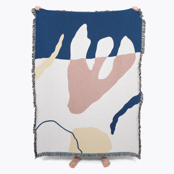 Image of Franklin throw by Slowdown Studio