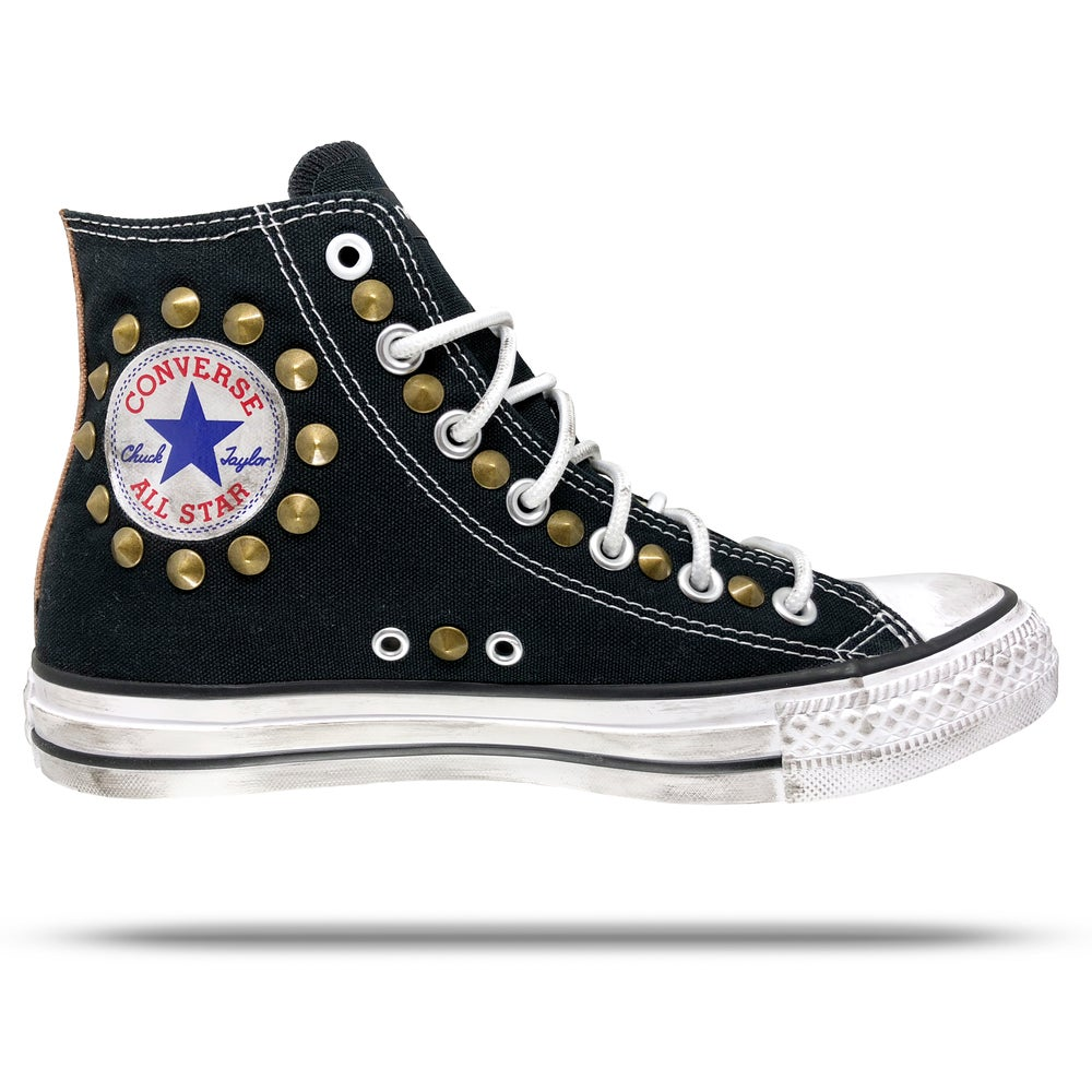 Image of Converse All Star - Brass Studs.