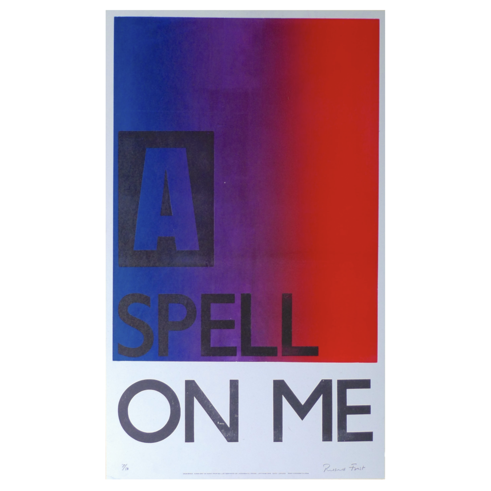 Image of A Spell on me print by Hooksmith Press