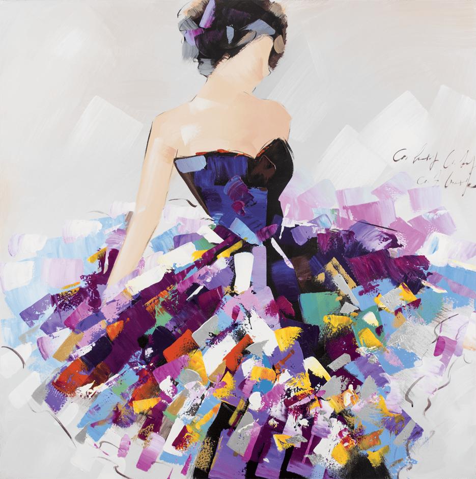 Image of Quadro Danza di Colori