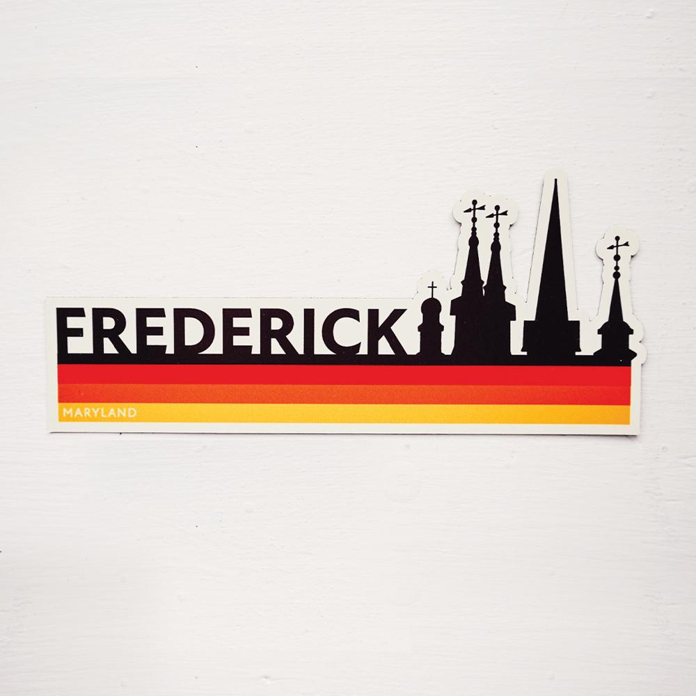 Image of Retro Frederick Magnet