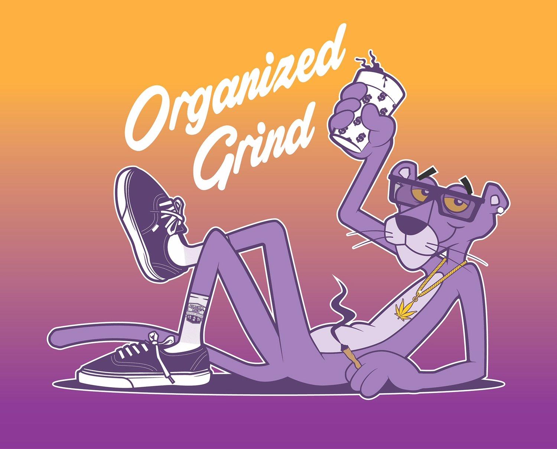 Image of New - Purple Panther Crop Tops & OG Logo Shorts