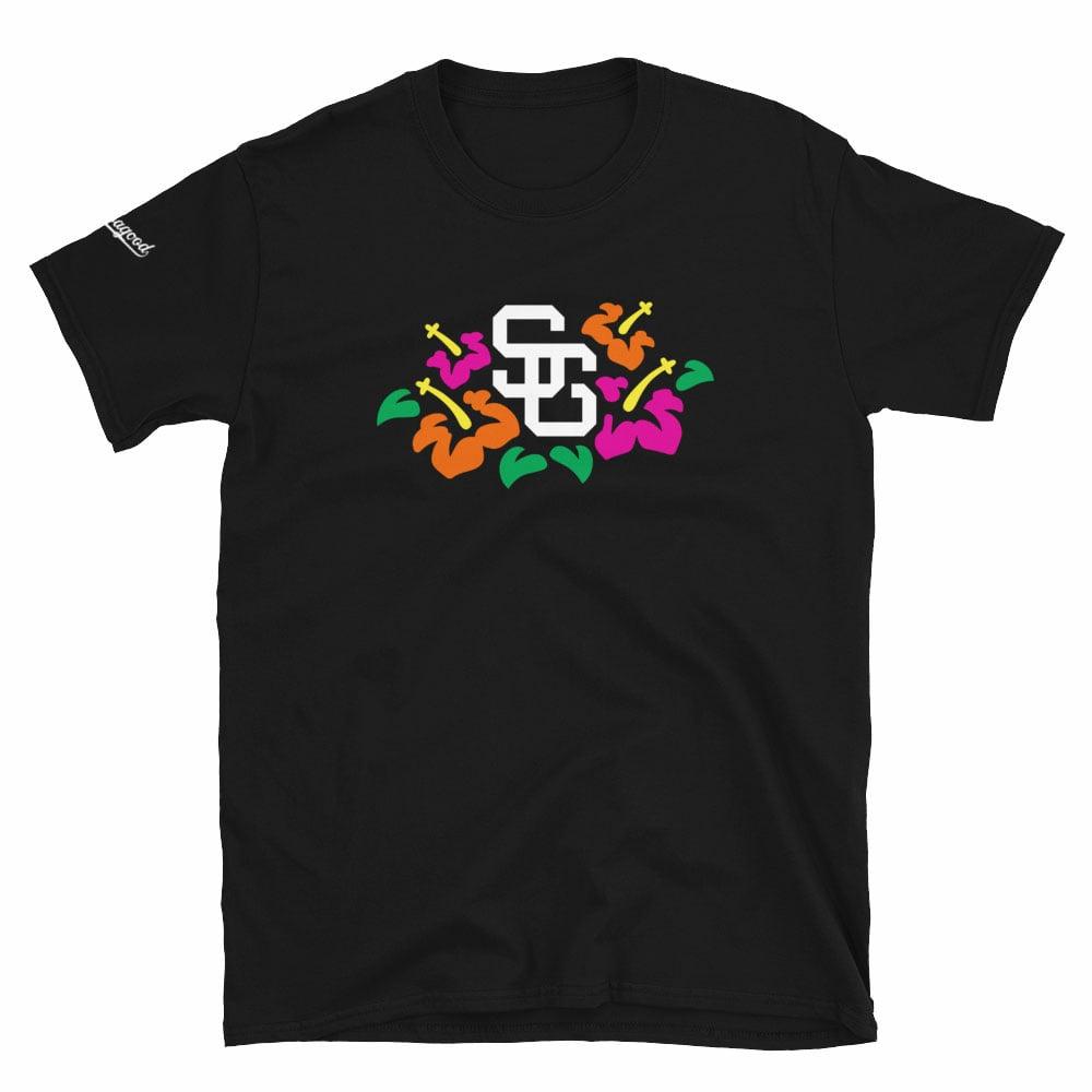 Image of Samoagood Hibiscus T-Shirt