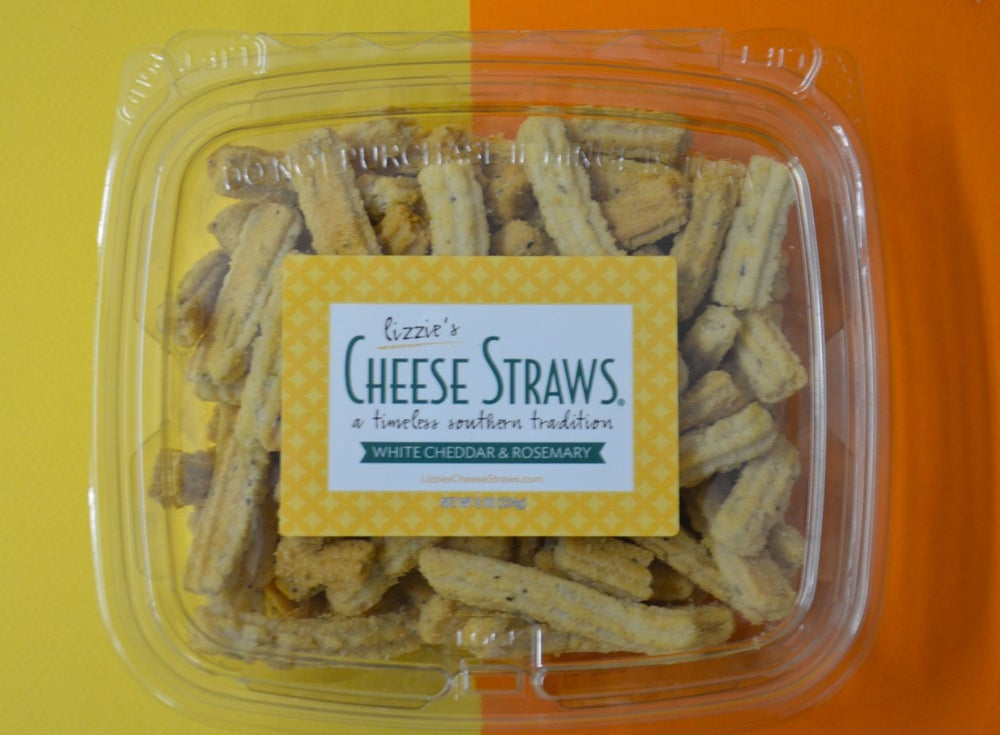 Image of White Cheddar & Rosemary Straws