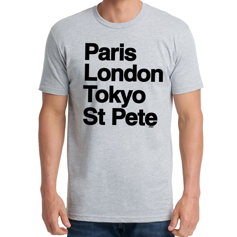 Image of WORLD TOUR Mens Heather Grey w/ Black
