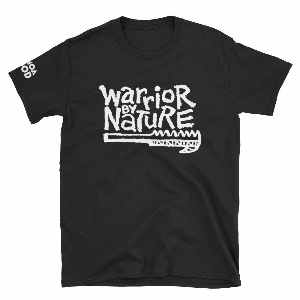 Image of Warrior By Nature Black Tee