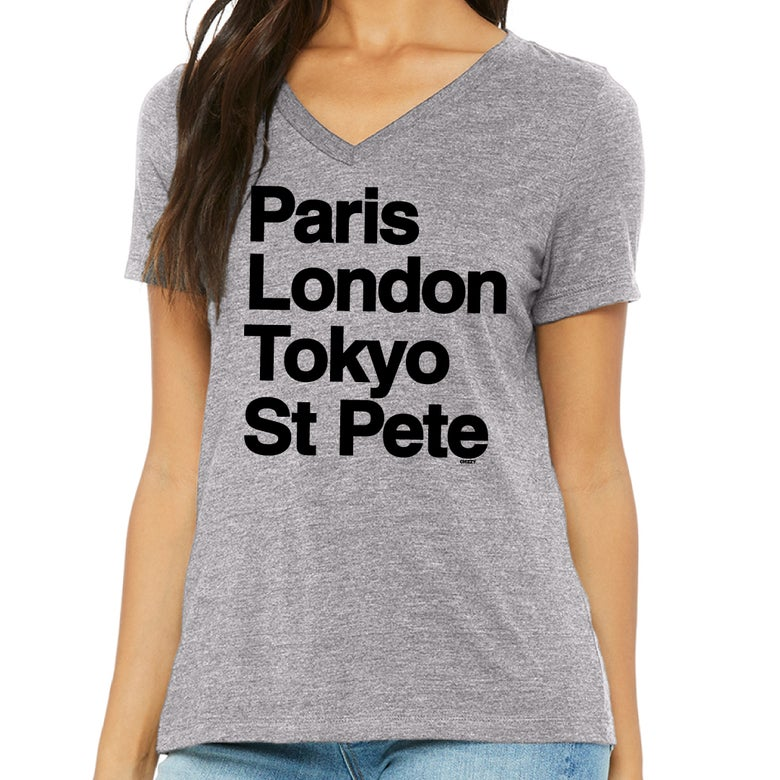 Image of WORLD TOUR Womens Athletic Heather VNeck