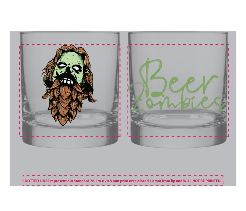 Beer Zombies - Dude that's a proper Rocks Glass