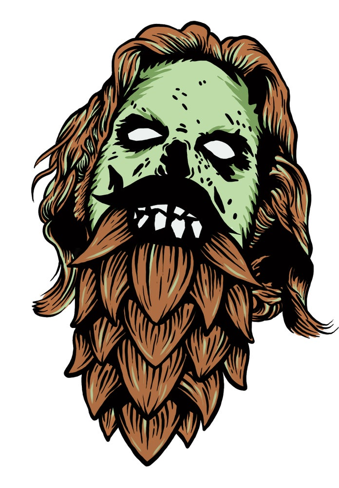 Image of Beer Zombies - Dude that's a proper Rocks Glass