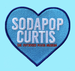 """Image of The Outsiders House Museum """"Sodapop Curtis"""" Heart Patch."""
