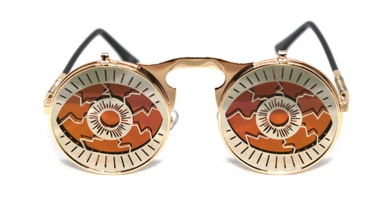 Image of Bloodshot Flip Reflective Sunnies