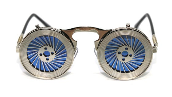 Image of Grinds My Gears Flip Reflective Sunnies