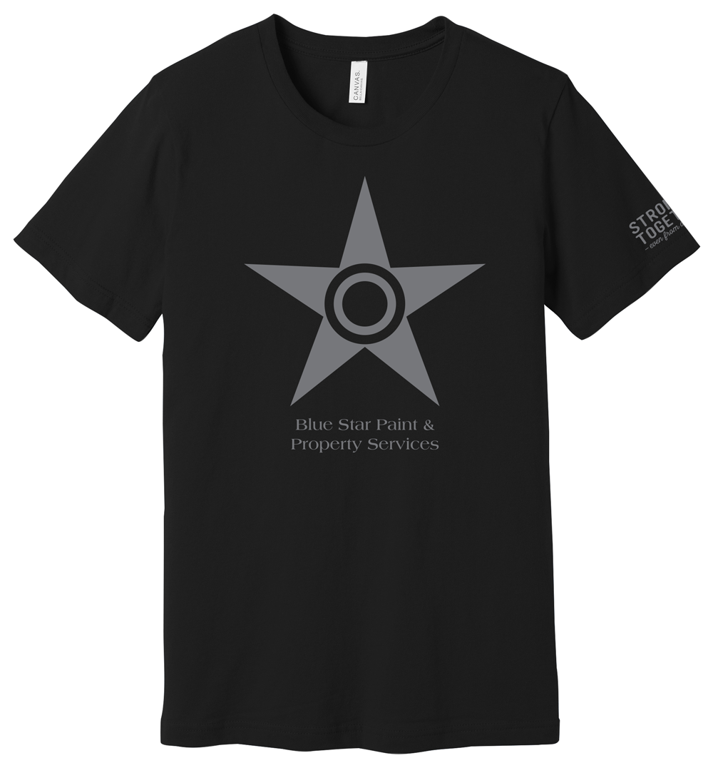 "Blue Star ""Stronger Together"" Tee"