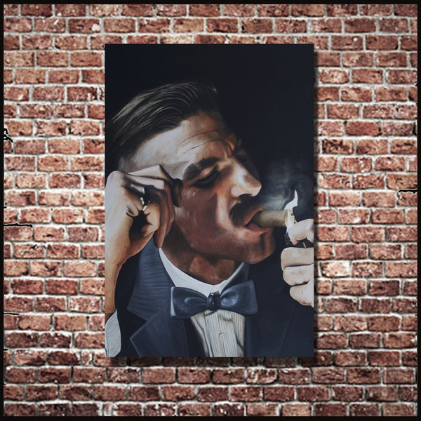 Image of ARTHUR SHELBY (3x2ft canvas print)