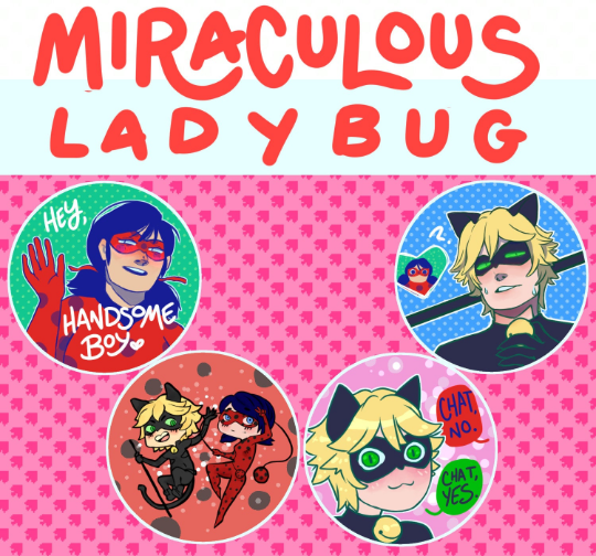 Miraculous Buttons!
