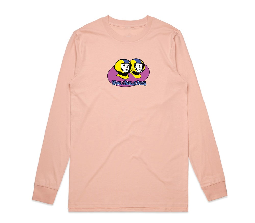 Image of Space Cadet L/S tee pink