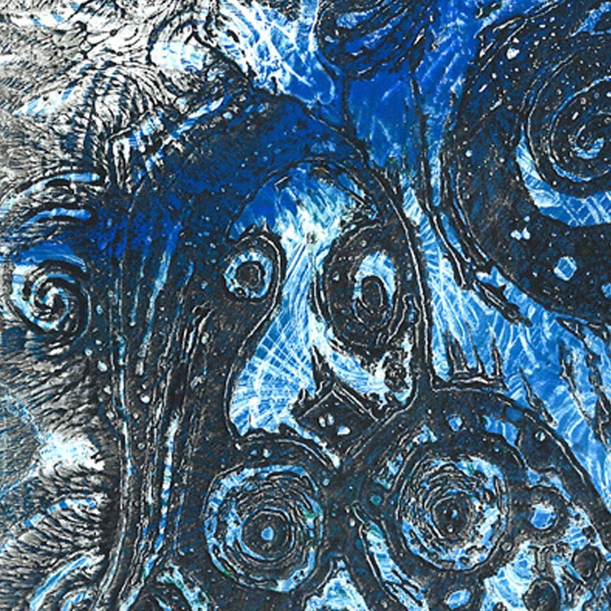 Mother of Fish Monoprint