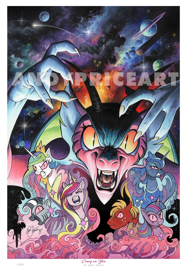 Crazy on You - Limited Edition Print (AVAILABLE ONLINE ONLY)