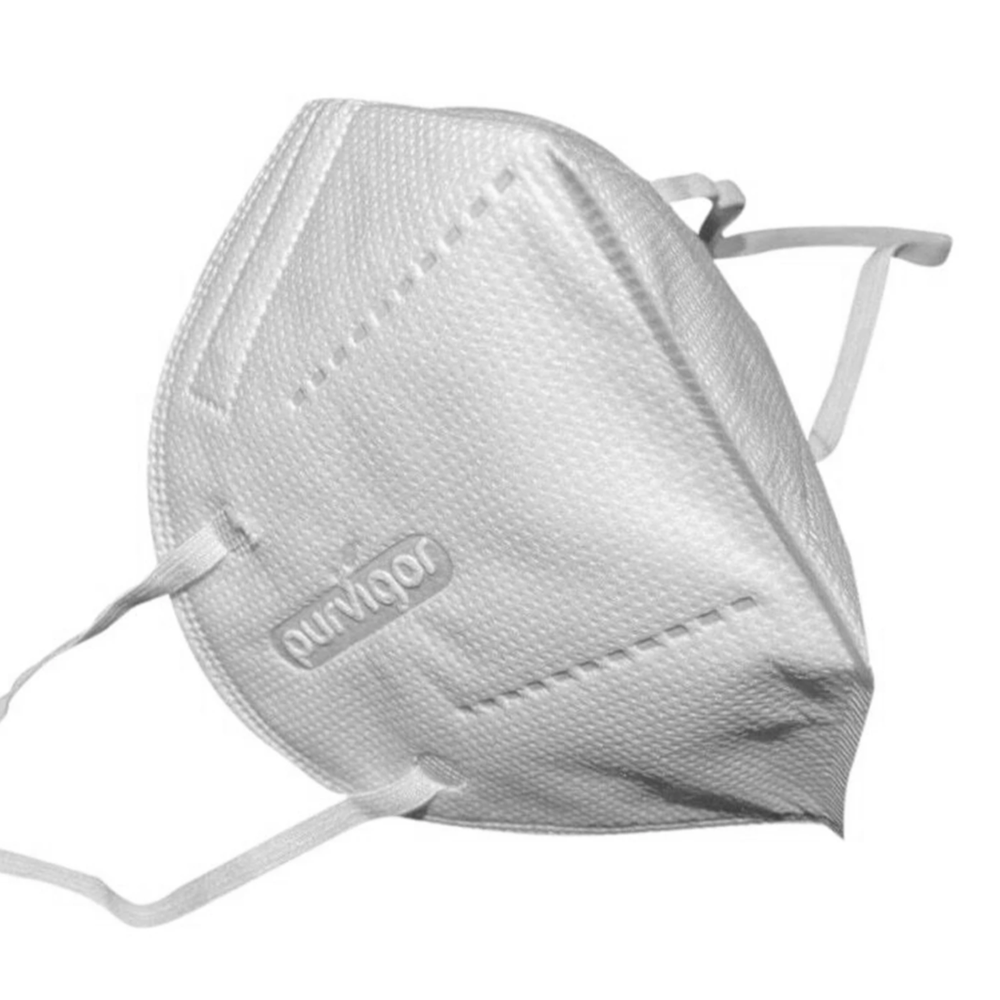 KN95 Respirator Face Mask, Antibacterial 5 Ply (Bag of 10)
